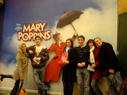 Mary Poppins on Broadway in NYC